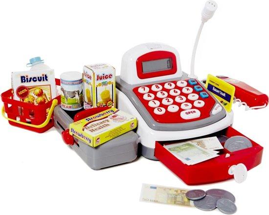 Afbeelding van Speelgoed kassa met licht en geluid speelgoed