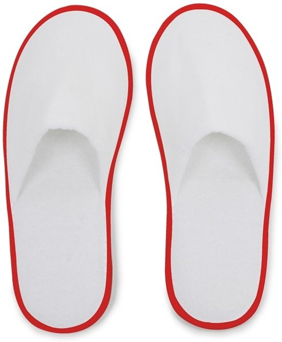 Slippers 1 wit Unisex Foot Hotelslippers Oranje Maat Of Small Huis wqvZI1q