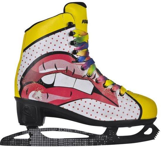Powerslide Kunstschaatsen Pop Art Blondie Dames Maat 35