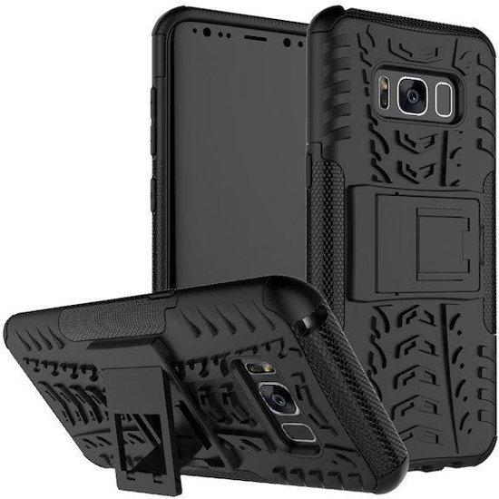 Samsung Galaxy S8 Hoes - Schokbestendige Back Cover - Zwart