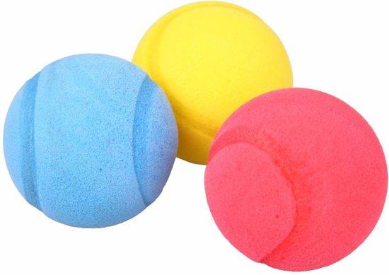 Softballen Foam 7cm 3st In Zak