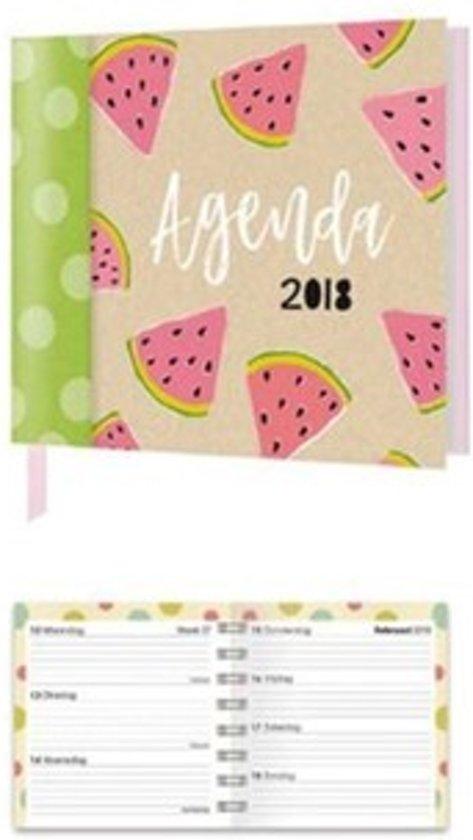 Agenda 2018 15 Maanden 12x12 Spiraal Papercraft