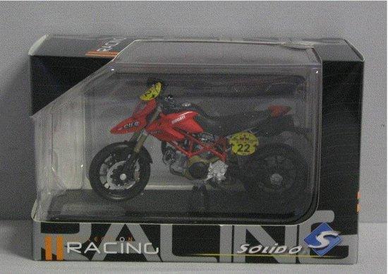 Ducati Hypermotard TDF 1:18 Solido Rood 530055