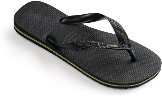 Havaianas Black Brasil Unisex Brasil Havaianas Slippers Cq1xWdX