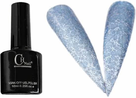 Marble Gelnagellak Blauw Grijs