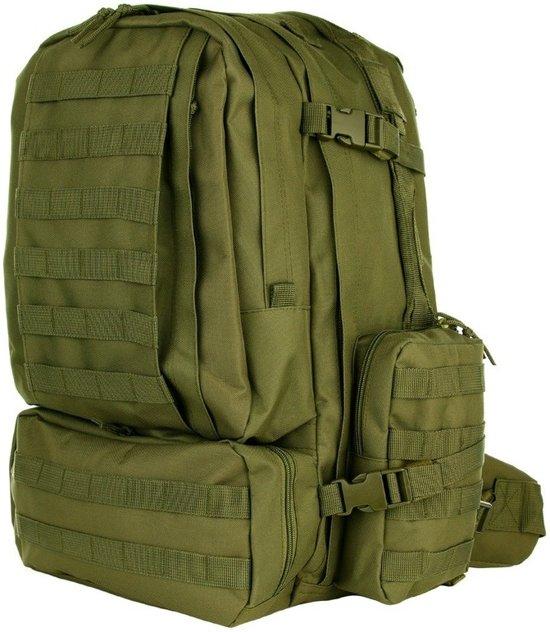db82b553293 bol.com | Grote legergroene Assault rugzak 60 liter