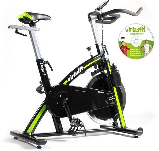 VirtuFit Etappe 1 - Spinbike met Computer - Inclusief Spinning DVD