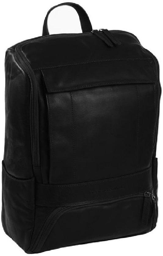5252c400602 bol.com | Chesterfield - Leren Laptop Rugtas Rich - 15,4 inch - Zwart