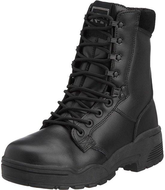Leren Werkschoenen.Bol Com Magnum Pro Tector Leren Veiligheid Werkschoenen Hoog