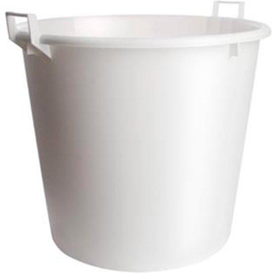 Speciekuip 125 Liter.Kreuwel Speciekuip Wit 125 Liter Met Opstaande Handvaten