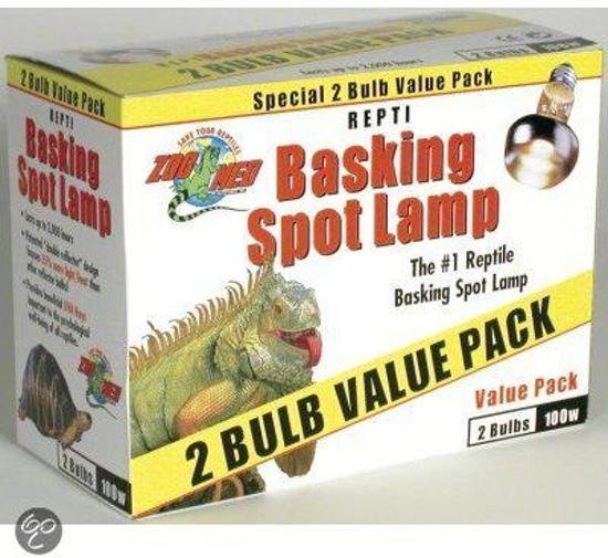 ZM Repti Basking Spot Lamp - 40 w. - Value Pack