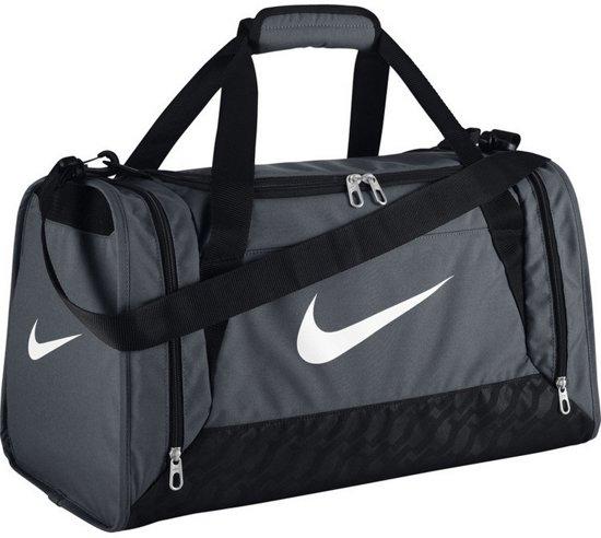 Nike Brasilia 6 Duffel Small - Sporttas - Unisex - One size - Grijs