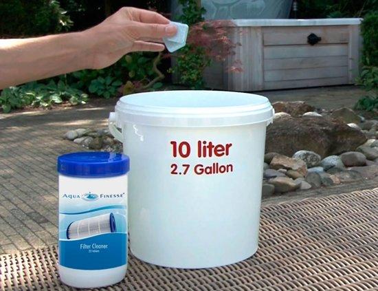 AquaFinesse Filtercleaner