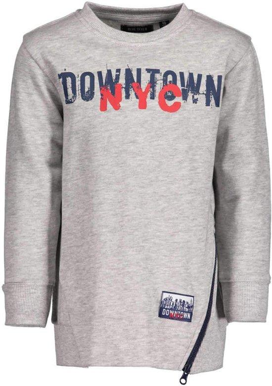 Blue Seven Jongens Sweater Grijs - 864551 - Maat 128
