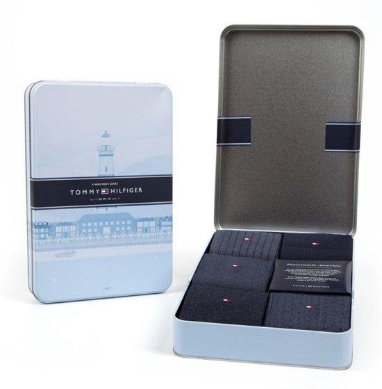 f8f9d62c242 bol.com | Tommy Hilfiger Sokken Giftbox - 5 pack - Donkerblauw ...
