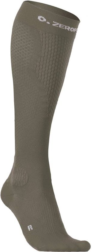 ZeroPoint compressie sokken Intense Army-Groen - Heren M1