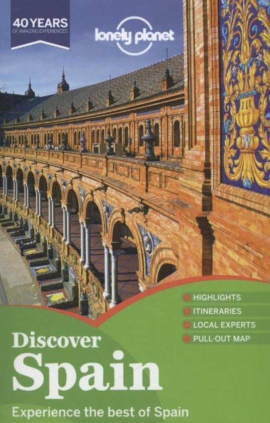 Boek cover Lonely Planet Discover Spain van Andy Symington (Paperback)