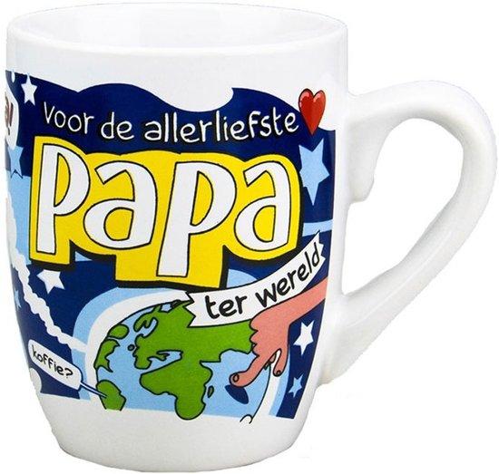 Cartoon mok Papa