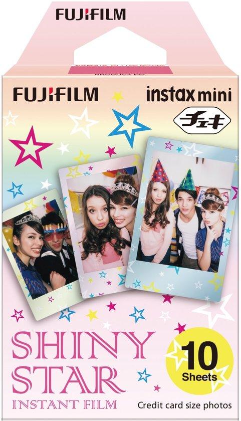 Fujifilm Instax Mini Colorfilm Star - 10 stuks