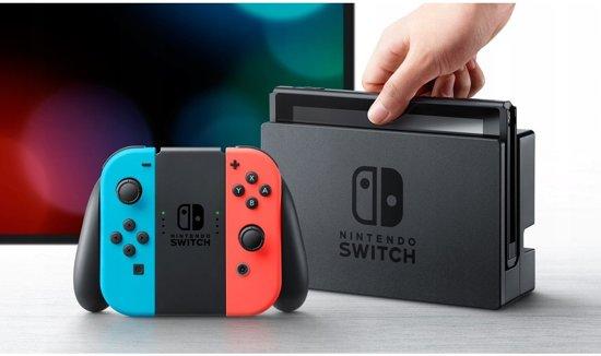 Nintendo Switch Console - 32GB - Blauw/Rood