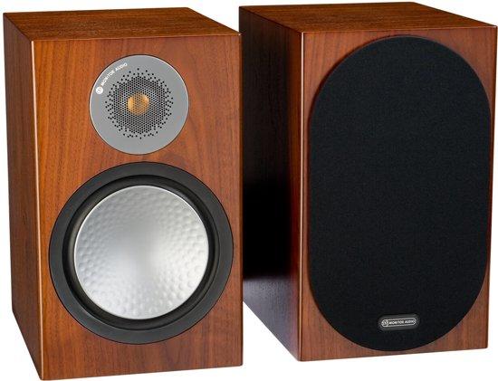 Monitor Audio Silver 100 - Boekenplank Speakers - Walnoot