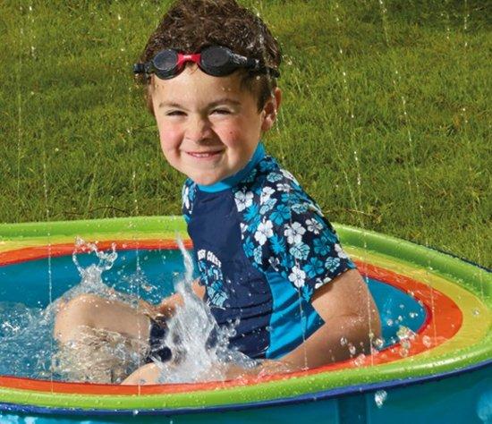 Baby zwembad / waterballenbad Rainbow