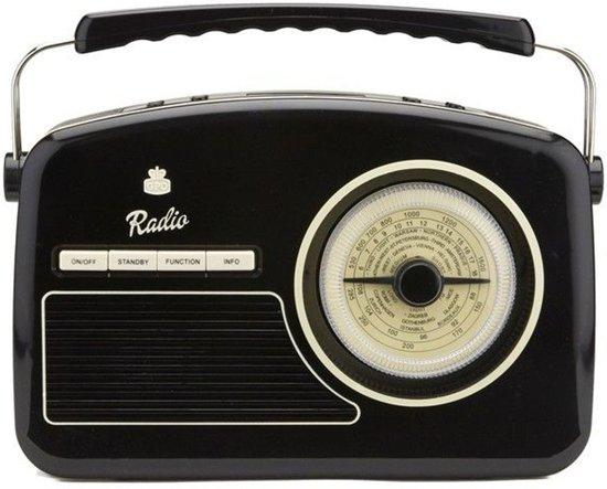 GPO Rydell Retro Radio Zwart