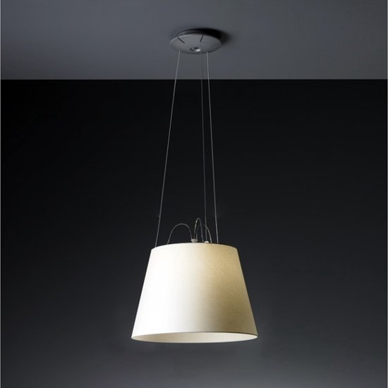 Artemide tolomeo mega sospensione hanglamp beige - Artemide lichtarmatuur ...