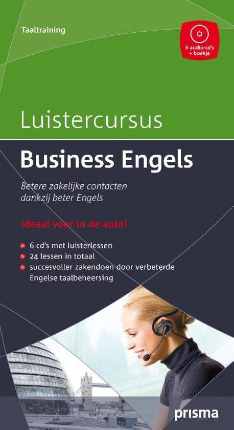 Luistercursus business engels luisterboek