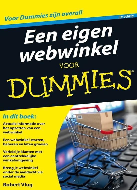 Een eigen webwinkel voor Dummies - Robert Vlug