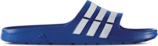 Adidas Slide Unisex Slippers Blauw Maat Duramo wit 39 qTqFrwPf