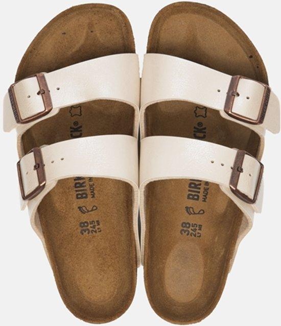 Birkenstock Arizona slippers wit Maat 42