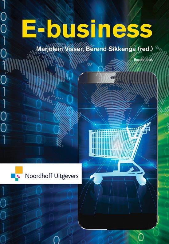 Boek cover E-business van Marjolein Visser (Paperback)