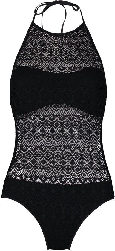 Shiwi monokini crochet solid - black - 38