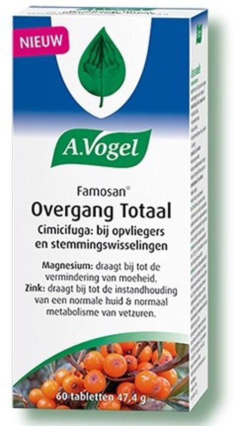 A.Vogel Famosan Overgang Totaal 60 Tabletten