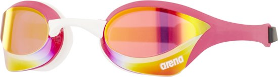 arena Cobra Ultra Mirror Goggles, pink revo-pink-white