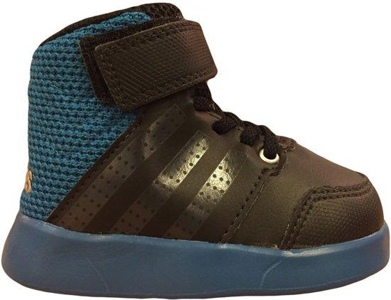 Adidas Jan BS Kinderschoen - Zwart/Kobalt - Maat 22