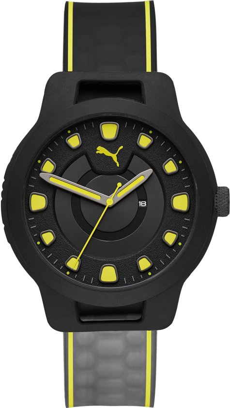 Puma Zwart Heren Horloge P5025