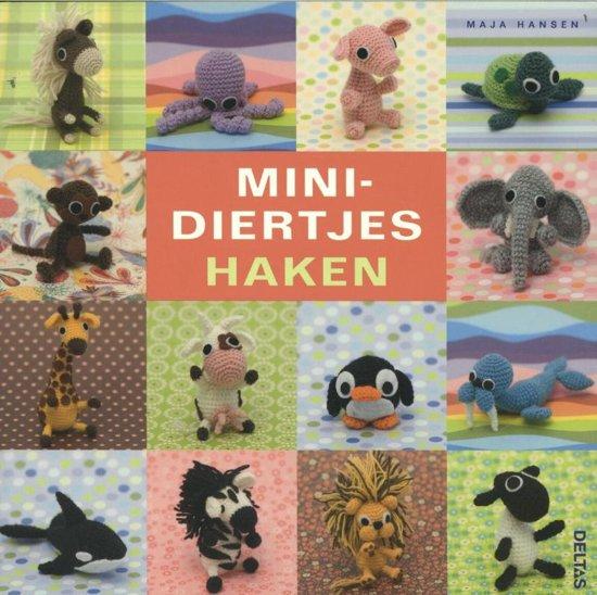 Bolcom Minidiertjes Haken Maja Hansen 9789044734225 Boeken