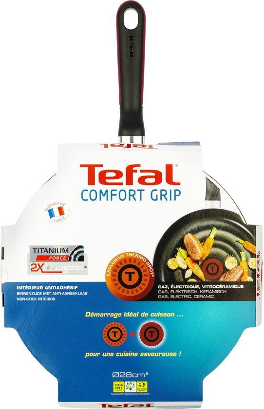 Tefal Comfort Grip Hapjespan à 28 cm