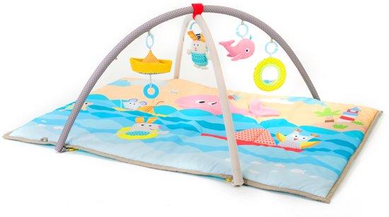 Taf Toys - Seaside Pals baby activity gym– speelkleed met afneembare bogen in zee thema met spiegel, knispergeluidjes en verschillende speeltjes.