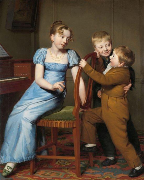 Schilderij / Poster  Het gestoorde pianospel - Willem Bartel van der Kooi