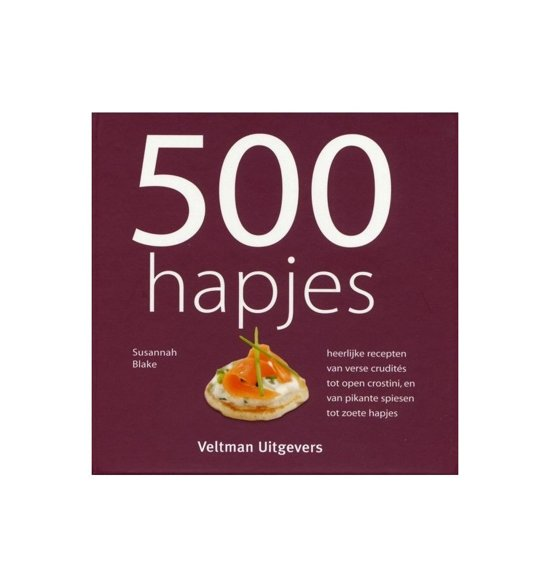 Boek cover 500 hapjes van Susannah Blake (Hardcover)