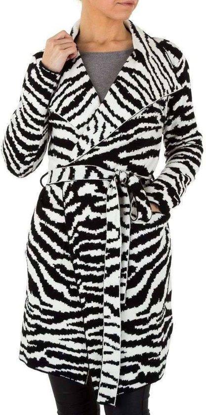 1 Dames Mantel Maat Dames Mantel Zebramotief Maat Mantel Dames 1 Zebramotief Maat 1 nS4xaqBTw