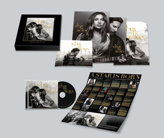 CD cover van A Star Is Born (Originele sountrack) (Limited Edition Boxset) van Lady Gaga