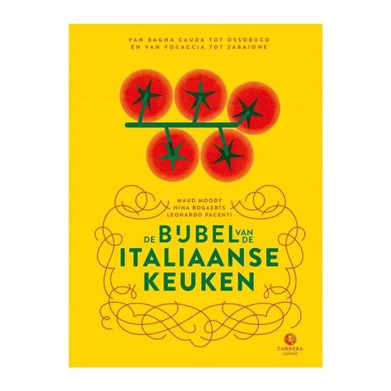 Boek cover Landenbijbels - De bijbel van de Italiaanse keuken van Maud Moody (Hardcover)