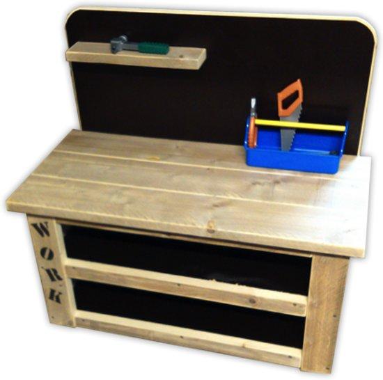 steigerhouten kinder werkbank. Black Bedroom Furniture Sets. Home Design Ideas