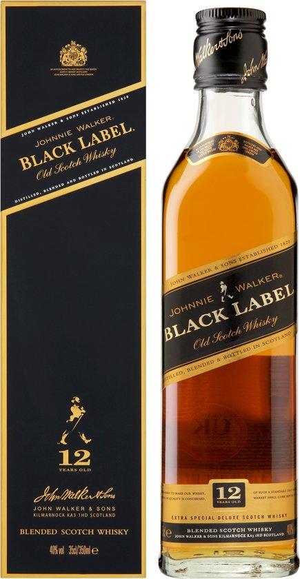 Johnnie Walker Black Label Whisky - 35 cl
