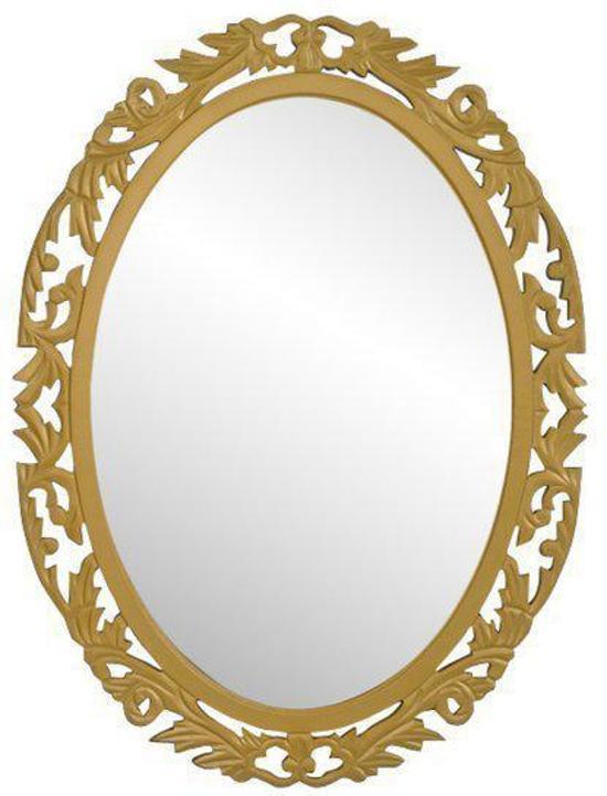 Gouden Spiegel Ovaal.Bol Com Vidaxl Spiegel Spiegel Barok Ovaal Goud