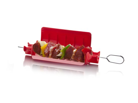 Tomorrow's Kitchen Quick Skewer XL - Kunststof - Rood